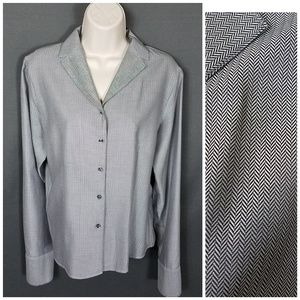 4 for $10- Talbots size 12 Blouse